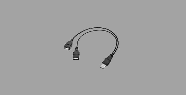 DOUBLE USB